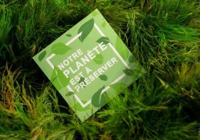Des supports publicitaires écologiques pour vos futurs projets de communication