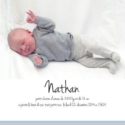 Naissance Nathan