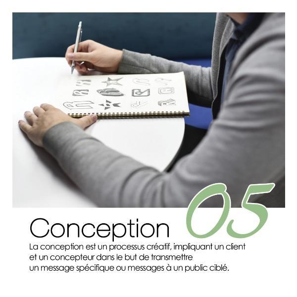 Concevoir, c'est créer !